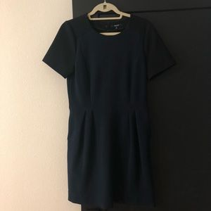 Madewell two-tone dress